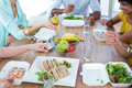 Business People Having Lunch Royalty Free Stock Images - 54773339