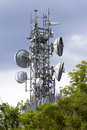 Telecomunication Tower Stock Image - 54781281