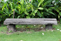 Vintage Bench Chair At The Nature Royalty Free Stock Photo - 54782015