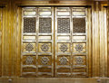 Golden Temple Door At Ueno Park. Royalty Free Stock Image - 54791746