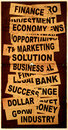 Business New Headlines With Old Paper Stock Photos - 5488533