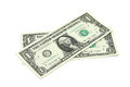 Two New Bills Into One US Dollar Stock Images - 54806104