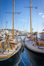 Sailboats In A Harbor Of Cannes France French Riviera Stock Photos - 54818683