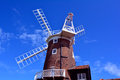 Windmill Fantail And Blue Sky, Cley Windmill, Cley-next-the-Sea, Holt, Norfolk, United Kingdom Royalty Free Stock Photos - 54857528