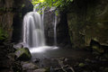 Lumsdale Waterfall Stock Image - 54860881