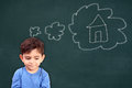 Childs Dream Home Stock Photo - 54861150