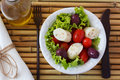 Fresh Salad Of Heart Of Palm (palmito) Stock Photography - 54869112