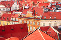 Roofs Of Old Houses On Old Town Square, Prague Stock Photography - 54878912