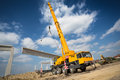 Mobile Crane Stock Image - 54881501