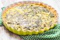 Spinach Tart Stock Images - 54884504