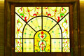 Colorful Stained Glass Window Stock Photography - 54889162