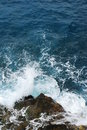 Waves Crashing Onto Rocks Stock Photo - 5493760