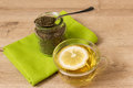 Cup Of Green Tea Royalty Free Stock Image - 54905066