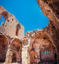 Medieval Ruins Of The St. George Of The Greeks Church. Famagusta Stock Image - 54926821