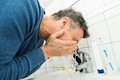 Man Washing Face Royalty Free Stock Photography - 54928667