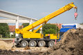 Mobile Crane Stock Images - 54932494
