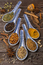 Oriental Spices - Cooking Ingredients Royalty Free Stock Photography - 54938547