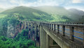 Long Mountain Bridge Royalty Free Stock Images - 54938889