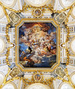 The Fresco Corrado Giaquinto «Spain Pays Homage To Religion And Royalty Free Stock Photos - 54953638