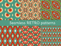 Set Of Six Ethnic Seamless Patterns Stock Images - 54956924