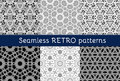 Set Of Six Ethnic Seamless Patterns Royalty Free Stock Photos - 54956988