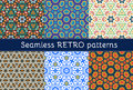 Set Of Six Ethnic Seamless Patterns Royalty Free Stock Images - 54957399