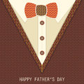 Creative Greeting Card For Fathers Day. Stock Photo - 54967820