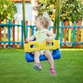 Little Girl On The Swing Royalty Free Stock Photography - 54973027