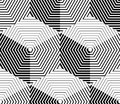 Contrast Black And White Symmetric Seamless Pattern  Royalty Free Stock Photography - 54993237