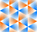 Bright Illusory Abstract Geometric Seamless Pattern With 3d Geom Royalty Free Stock Images - 54998259