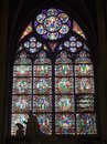Window-pane From Notre-Dame In Paris Royalty Free Stock Photography - 5502777