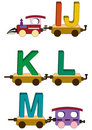 Train Letters And Numbers Stock Image - 5504781