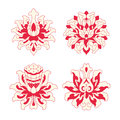 Flower Patterns Of Chinese Style Royalty Free Stock Photography - 55009007
