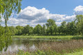 A Lake In The Park Royalty Free Stock Photo - 55034975