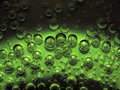 Light And Dark Green Bio Bubbles On Metalic Background Royalty Free Stock Images - 55080769