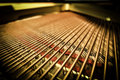 Grand Piano Strings Royalty Free Stock Images - 55086649