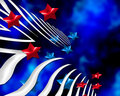Digital Stars And Stripes Stock Photography - 5514922