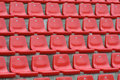 Red Chairs Stock Image - 5515451