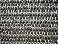 Texture Of Antique Chain Mail Stock Photo - 5519430