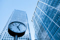 Time Management Concept Skyscraper Business Office Stock Photography - 55100012