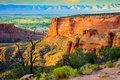 Colorado National Monument At Sunset Royalty Free Stock Image - 55112686