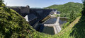 Edersee Dam Germany High Resolution Panoramic Picture Stock Photography - 55117892