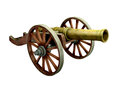 Ancient Cannon On Wheels Royalty Free Stock Image - 55118936