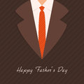 Greeting Card Design For Fathers Day Celebration. Stock Photos - 55131833