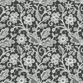 Lace Seamless Floral Pattern. Royalty Free Stock Image - 55185406