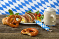 Bavarian Lunch Royalty Free Stock Photos - 55207188