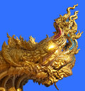 Golden Dragon Royalty Free Stock Photos - 55209338