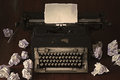 Old Typewriter Stock Images - 55213974