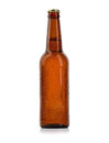 Bottle Of Beer With Drops Isolated Stock Photography - 55214682