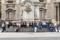 Piazza Del Duomo In Catania, Sicily. Italy. Obelisk With Elephant. Royalty Free Stock Image - 55240256